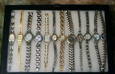 Gold and silver bracelet watch collection Very Nice