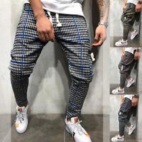 Mens Sport Gym Pants Slim Fit Running Joggers Casual Long Trousers Sweatpants