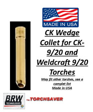 Tig Welding Torch Parts Ck Brand Wedge collet 1/16, 3/32, 1/8 fits Wp9 / Wp20