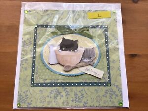Craftroom clearout, craft bundle, 1 handmade card lot 10h