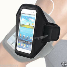 Black Premium Armband Case Cover For Samsung Galaxy S2 4G i9210