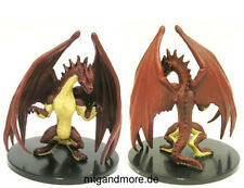Pathfinder Battles - #060 Young Red Dragon - Large Figure  Rise of the Runelords