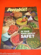 AWAKE! - IS YOUR FOOD REALLY SAFE - JUNE 2012