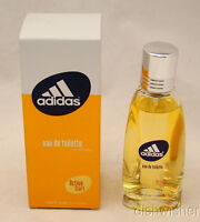 Vintage  New Coty ADIDAS ACTIVE START Women Eau De Toilette 1.7 oz 50 ml NIB