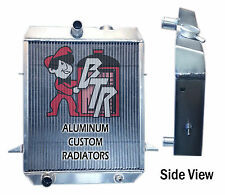 "1965, 1966 ,1967 ,1968 Triumph TR4 A Aluminum Radiator ""Made in USA"""