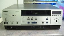 PANASONIC VHS VIDEO CASSETTE PLAYER MODEL AG-6100