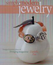 LIVRE/BOOK : SIMPLY MODERN JEWELRY (bijoux fantaisie faire soi-même)