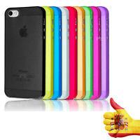 Funda Carcasa iPhone 5/5S/SE Semi-Transparente Protecto Cover Envío Desde España