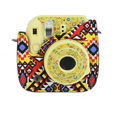 Classic PU Leather Camera Case Bag For FUJIFILM Instax Mini8 Mini8s Multicolor