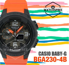Casio Casual Watch Baby-g Orange Ladies Bga-230-4b