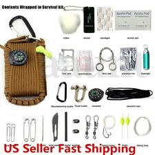 29 in 1 Professional Survival Bag Outdoor Travel Hike Field Camp Emergency Kits