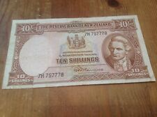 10 New Zealand Shilling banknote