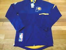 ADIDAS NBA AUTHENTIC INDIANA PACERS ON COURT JACKET SIZE S