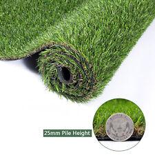 GOLDEN MOON Artificial Grass Mat 5-Tone Thick Outdoor 0.98in Green 3'x 5'