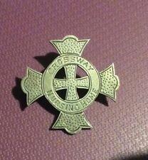 Silver Badge Brooch Crossway Nursing Home William Hair Haseler 1920