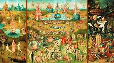 Puzzle Bosch-jardín del pornográfico, 9000 piezas, pintura, Hieronymus, educa