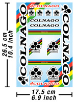 Colnago Decals Stickers Bicycle Vinyl Graphic Autocollant Aufkleber Adesivi /633