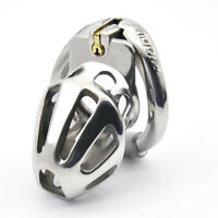 New Metal Openable Rings Design Male Chastity Device Vent Hole Cage