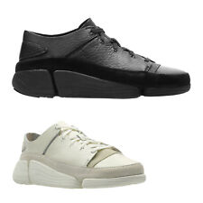 Clarks Originals Trigenic Evo Leather Casual Low-Top Flat Mens Trainers