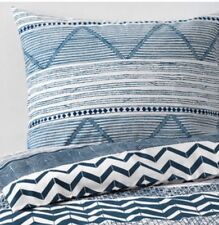 IKEA provinsro Double Ensemble De Couette, 2 taies d'oreiller blanc & bleu, Bnwt