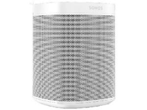 Altavoz - Sonos One, Wi-Fi, Asistente virtual, Alexa, Blanco