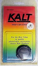 Kalt 37mm Snap-on Cap | fits Nikon/Canon/Sony/Olympus | New | From USA |