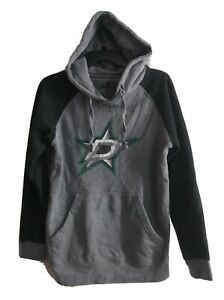Dallas Stars Hockey Fanatics Men's Grey Pullover Hoodie Size Small