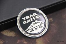 B111 Trail 4X4 ation Emblème autocollants voiture badge Car Emblem Alu auto Noir
