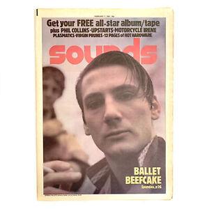 Sounds 7 February 1981 - Spandau Ballet,Phil Collins,Upstarts,Plasmatics