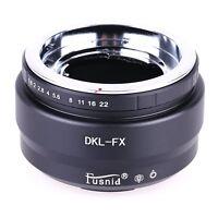Voigtlander Retina DKL Lens to Fujifilm x mount Fuji FX X-pro1 X-E1 X-E2 Adapter