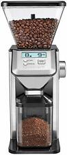 NEW Cuisinart CBM-20 Premium Conical Coffee Bean Burr Grinder Silver ESPRESSO