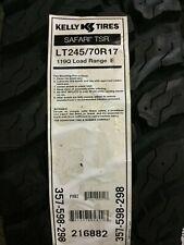 1 New LT 245 70 17 LRE 10 Ply Kelly Safari TSR Tire