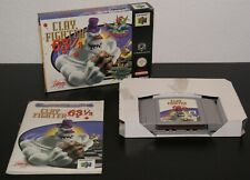 Nintendo 64 ClayFighter 63 1/3 PAL EUR CIB Complete