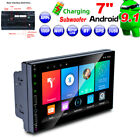 """7"""" Android 9.1 Touch Screen Car Stereo Radio MP5 Player GPS Wifi USB Phone Link"""