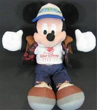 "Mickey Mouse Walt Disney Studios Bean Bag Plush 10"" Tag Jacket T Shirt"