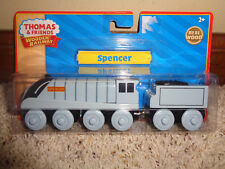 Thomas & Friends Spencer Train Engine, NEW IN PACKAGE, REAL WOOD