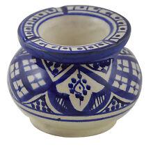 Ashtray Ceramic Outdoor Indoor Smokeless Cuban Moroccan Cigar Patio Cigarette