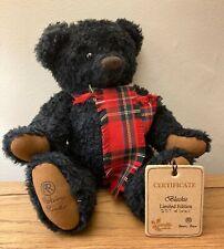 More details for robin rive 'blackie' bear 257/500 - vintage limited edition