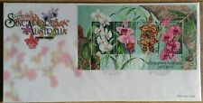 S'pore Ms-FDC Orchids S'pore-Australia joint issue 6.8.1998