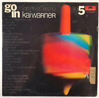 "LP Vinyl 12"" VG Go In Vol 5 Kai Werner 28 Hits Dancing Polydor 2371 061 598DA"