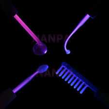 4PCS High Frequency Violet /Purple Light Electrodes High Freqeuncy Glass Tubes