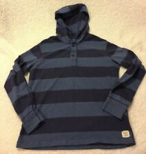 Ralph Lauren Denim & Supply Hoodie Blue Striped Polo Mens Large