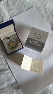 Rare 2 euro 2010 BE coffret et certificat 70 ans appel du 18 juin 1940 De Gaulle