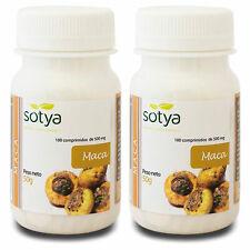 2  x MACA 500mg 100 comprimidos  - SOTYA - Libido Deseo Sexual