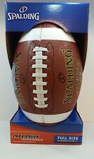Spalding NeverFlat Outdoor Football - Full Size. New