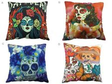 "18"" Day of the Dead D? de Muertos Pillow Christmas New Year Festival Party Deco"