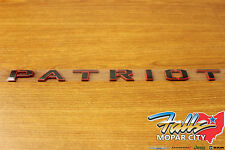 2016 Jeep Patriot 75th Anniversary Door Emblem Nameplate Badge Mopar OEM