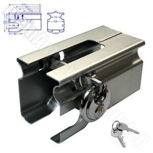 Bünte Safety-Box Safety Box 2 II Diebstahlsicherung Kastenschloss Anhängerschloß