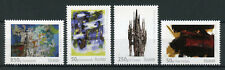 Iceland 2017 MNH Iceland Art VIII Lyrical Abstraction 4v Set Paintings Stamps