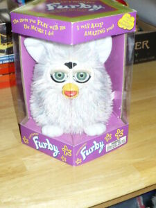 Hasbro Champagne Furby with Green eyes-sealed in box